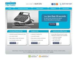#47 untuk Design a Website Mockup oleh deshiconcept