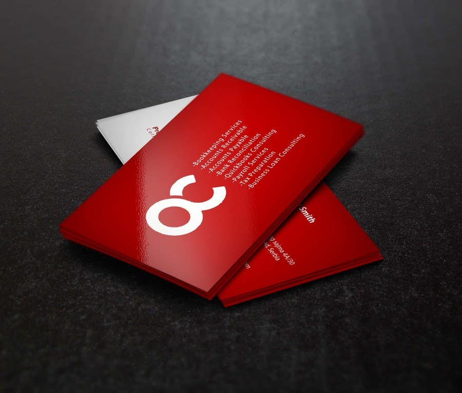 #18 for Design some Business Cards for Accounting / Consulting Business by rojoniakter