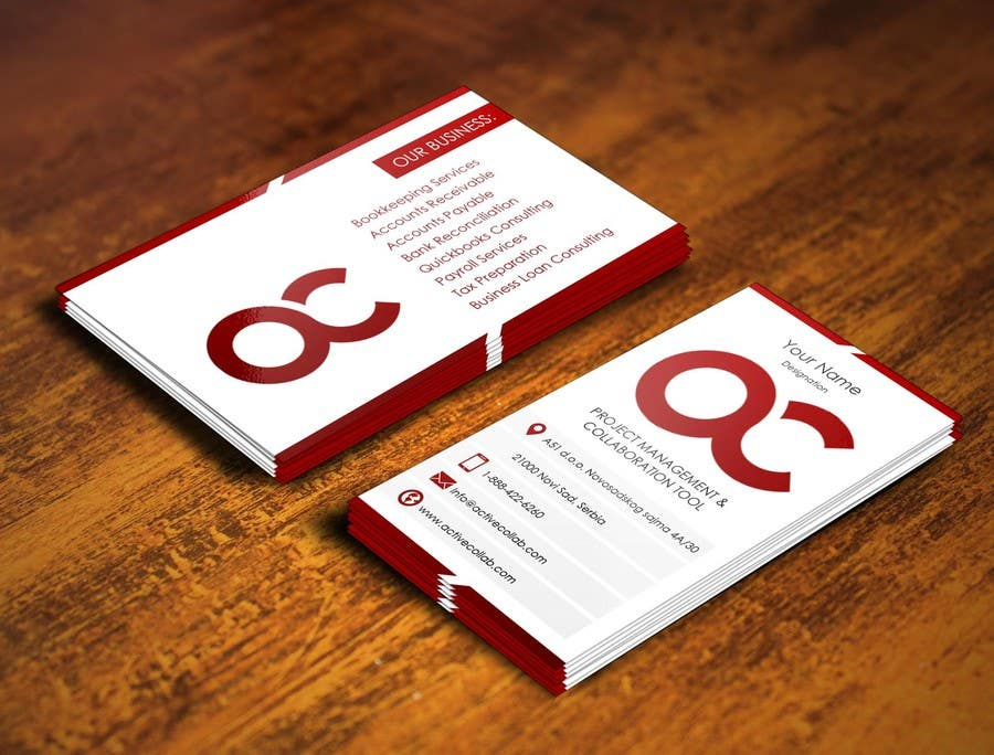 #8 for Design some Business Cards for Accounting / Consulting Business by pointlesspixels
