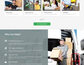 #5 for Design mockup for a services outsourcing website by clickinn
