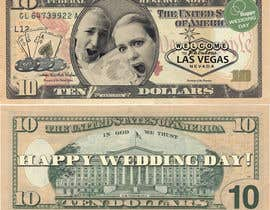 Russed tarafından Design Las Vegas Money!! Fake Money for wedding party. için no 27