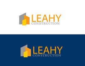 #85 untuk Design a Logo for Leahy Construction oleh mamunlogo