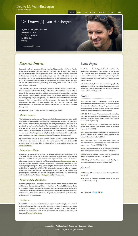 Konkurrenceindlæg #96 for Personal Page (CV Website)