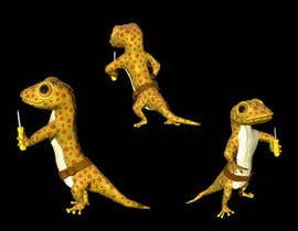 "#103 for ""Lizard Lick LED"" character branding - Lizard & Lick! af Izzyarts"