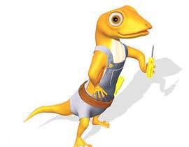"#108 for ""Lizard Lick LED"" character branding - Lizard & Lick! af Izzyarts"