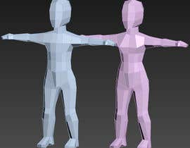 moranarsindd tarafından Male + Female Chibi nude models rigged (with fig leaf) için no 2