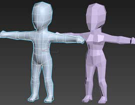 moranarsindd tarafından Male + Female Chibi nude models rigged (with fig leaf) için no 3