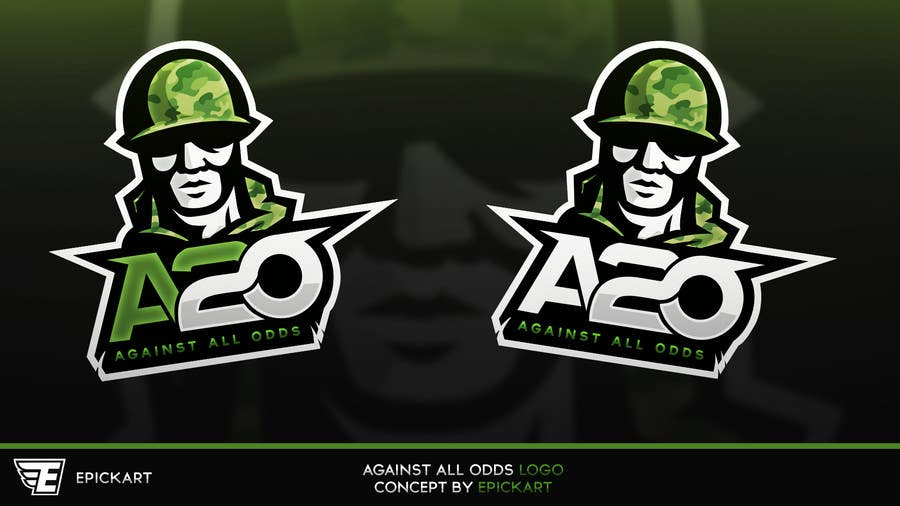 Entry #193 by EpickART for A2O Gaming Logo | Freelancer