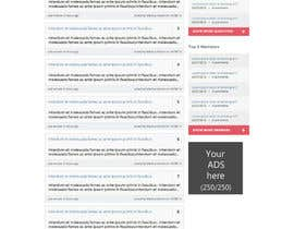 questions and answers web template freelancer