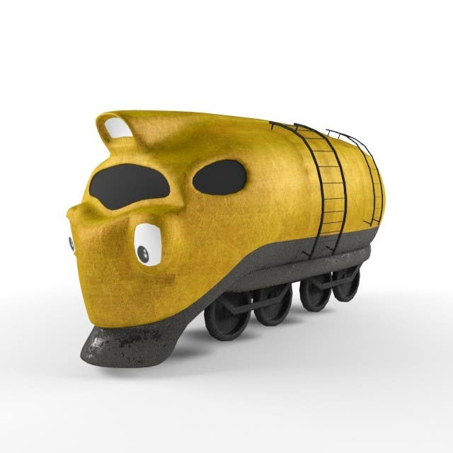 #2 for 3D-model of a quirky locomotive by GCKdsgn