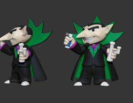 Bacvu tarafından Create 3D Model of a 2D character ready for 3D printing için no 11