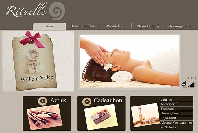 #16 for Design Vintage look for website Beauty Salon by mnet420