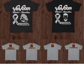 Exer1976 tarafından Design a t-shirt for our hair salon and help fight cancer için no 37