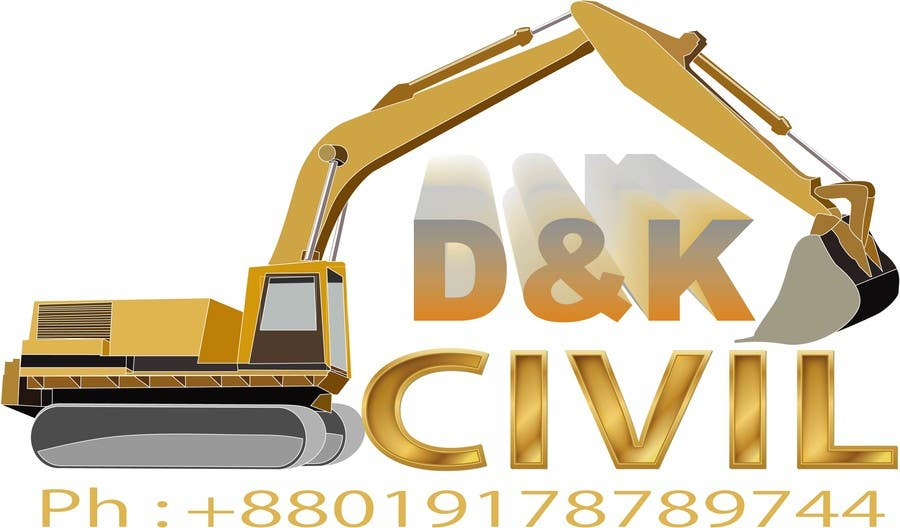 Bài tham dự cuộc thi #                                        51                                      cho                                         Design a Logo for D & K CIVIL