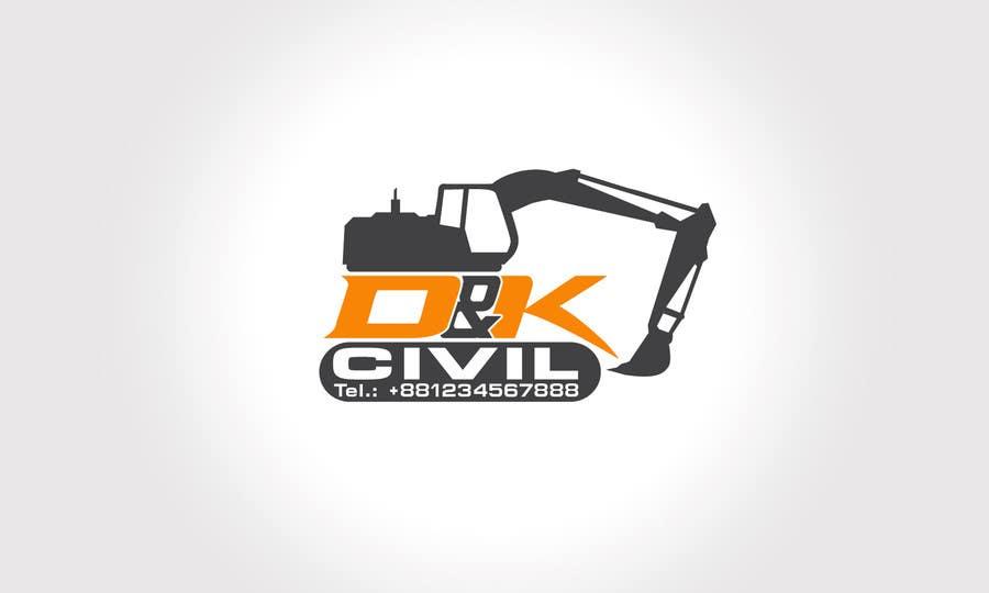 Bài tham dự cuộc thi #                                        58                                      cho                                         Design a Logo for D & K CIVIL