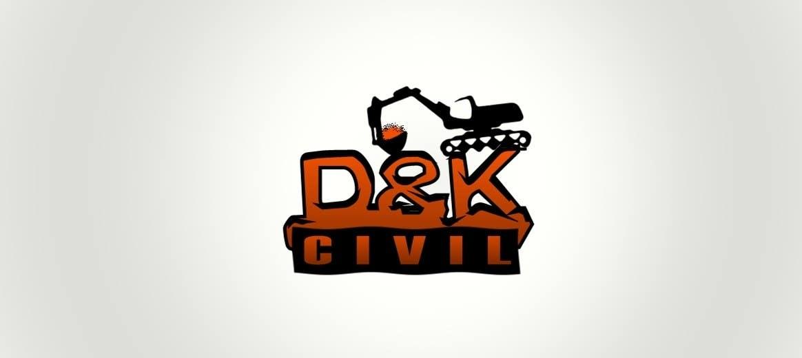 Bài tham dự cuộc thi #                                        35                                      cho                                         Design a Logo for D & K CIVIL