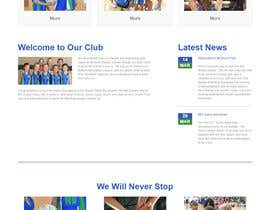swarajmgraphics tarafından Design website for a netball club için no 11