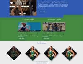 EagleAli tarafından Design website for a netball club için no 6