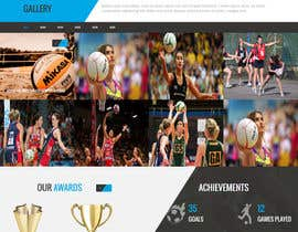 findprojects tarafından Design website for a netball club için no 4