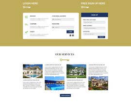 #29 for Design a Website Mockup for Realestate Portal by husainmill