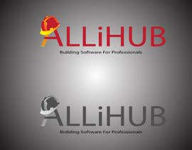 nº 266 pour Logo Design for Allihub par Robinray