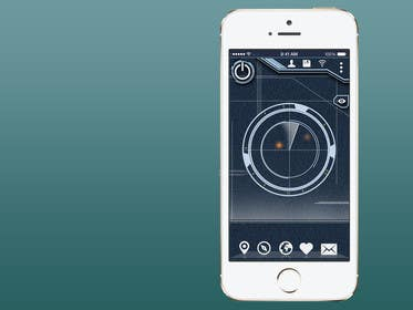 #8 for Design an App Mockup for a Futuristic Mission Impossible type interface by UniateDesigns