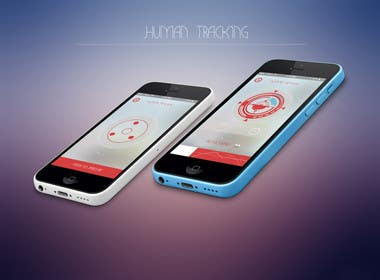 #4 for Design an App Mockup for a Futuristic Mission Impossible type interface by noniproduction