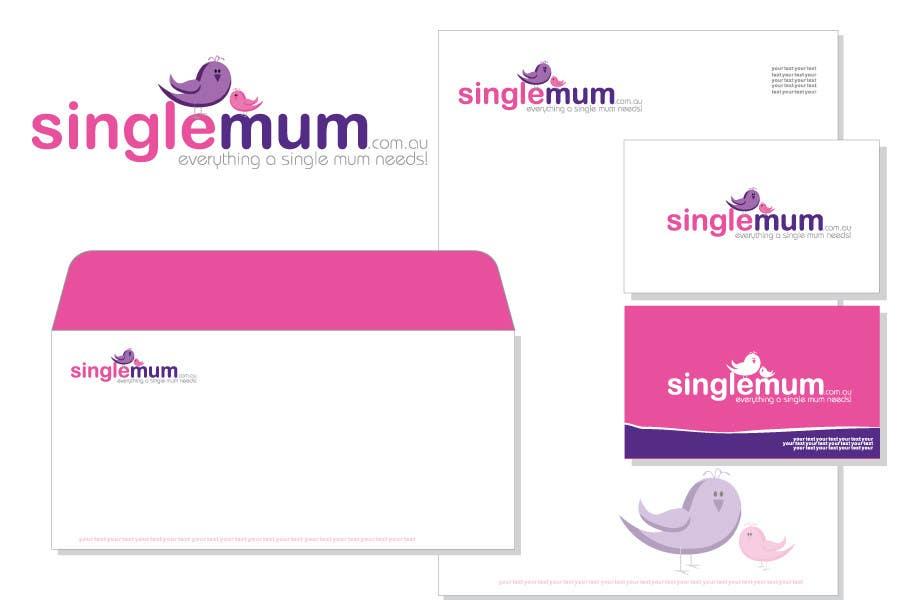 Logo Design for SingleMum.com.au için 354 numaralı Yarışma Girdisi