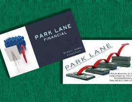 #41 para Business Card Design for Park Lane Financial por sorrysu