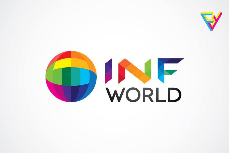 Inscrição nº                                         25                                      do Concurso para                                         Logo Design for INF World Company