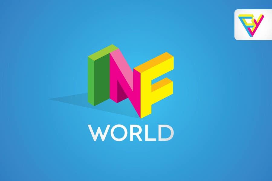 Bài tham dự cuộc thi #30 cho Logo Design for INF World Company