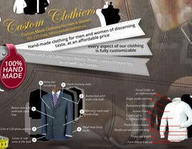 #15 for postcard for a custom clothing company - 2 sided by vectorstudios