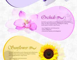 #18 for Infographic about Flowers af jai07