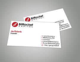 moorthyna tarafından Design some Business Cards for Bitcoin company için no 8