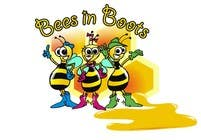 Graphic Design Contest Entry #73 for Bees in Boots Logo Design