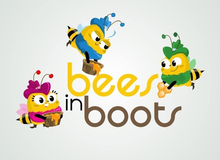 Конкурсная заявка №33 для Bees in Boots Logo Design