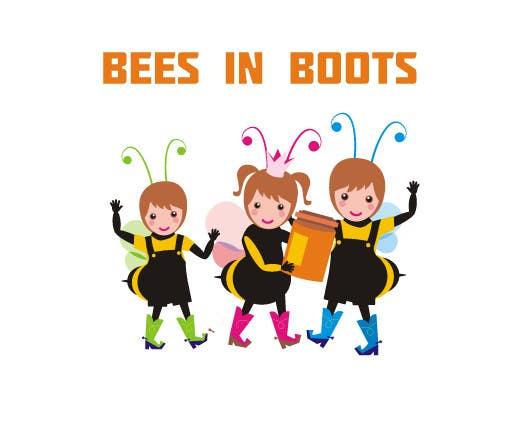 Inscrição nº                                         70                                      do Concurso para                                         Bees in Boots Logo Design