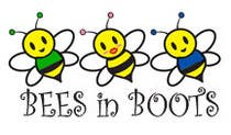 Graphic Design Конкурсная работа №4 для Bees in Boots Logo Design