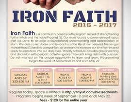 raldjay14313 tarafından Flyer Iron Faith 2016-2017 için no 3