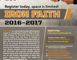 fardiaafrin tarafından Flyer Iron Faith 2016-2017 için no 21