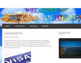 varothayanbanu tarafından Design a Travel Agency Website Mockup için no 7