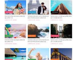 IT4BSsystem tarafından Design a Travel Agency Website Mockup için no 9