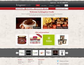 #54 untuk Website Design for Kingston Foods Australia oleh TebbsDesign