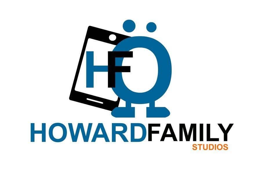 Kilpailutyö #                                        230                                      kilpailussa                                         Logo Design for Howard Family Studios
