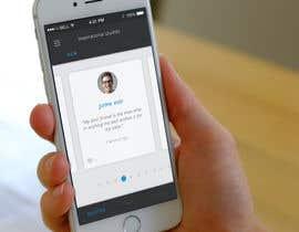 MochRamdhani tarafından Design an App Mockup için no 8