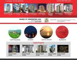 #18 for Design a Website Mockup for realestate site by mishok123