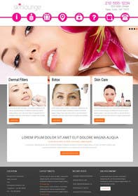 #1 for Design a Website Mockup for beauty site by zicmedia