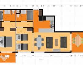 zoranaelek tarafından 3D plan for a ski apartment için no 2