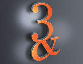#97 for Logo for 3& by VisualandPrint
