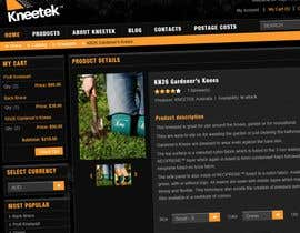 #65 pёr Website Design for KNEETEK.NET nga mijotichy